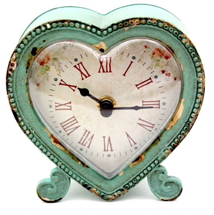 French Heart Clock